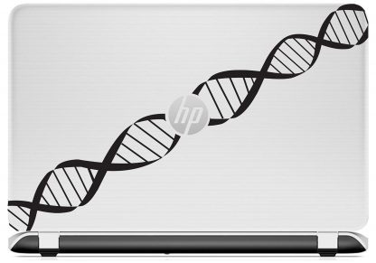 DNA Decal HP laptop