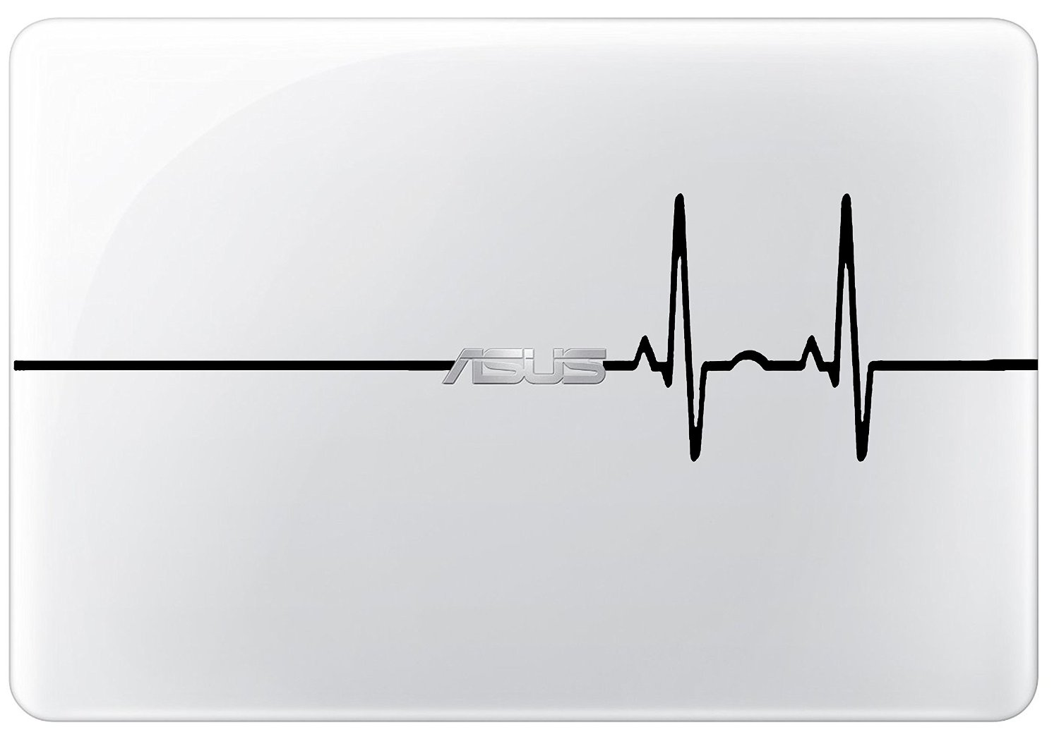 Heart Rate Laptop Decal Asus