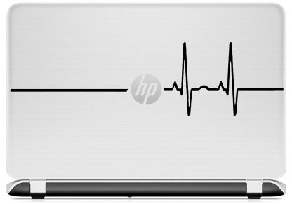 Heart Rate Laptop Decal HP