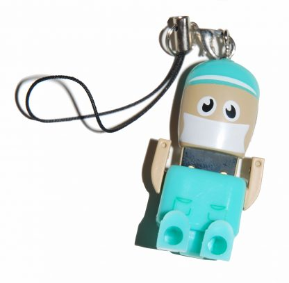 Mini Doctor USB Flash Drive with head open