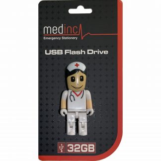 Nurse USB flash Drive Open Packaging