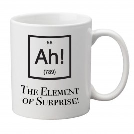 Ah! The Element of Surprise! – Mug