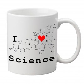 I Love Science Mug – for the ultimate science geek