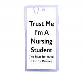 Trust Me I'm A Nursing Student – Phone Case