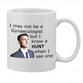 Gynecologist Jeremy Hunt Themed Mug