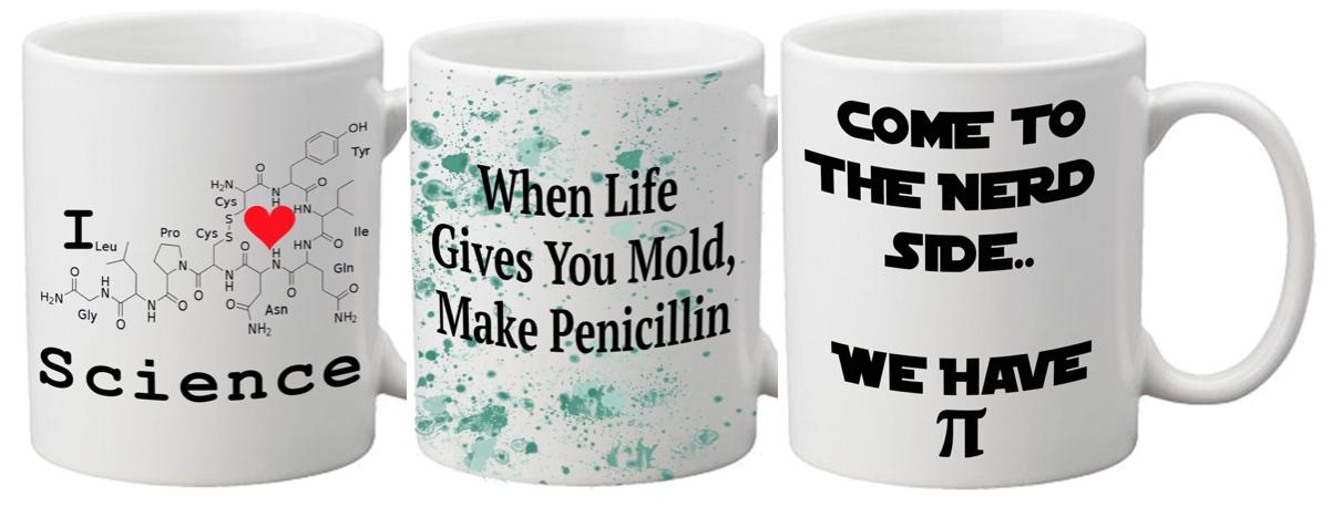 Science Mugs