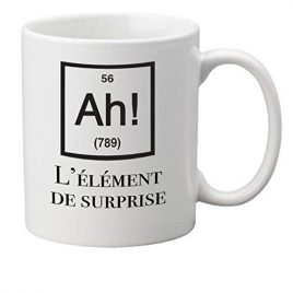 Ah! L'element de surprise tasse sciences de la nouveaute