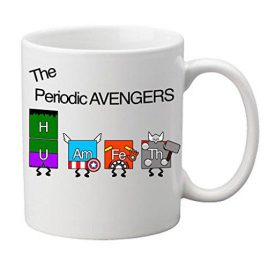 """Periodic Avengers"" Novelty Tasse"