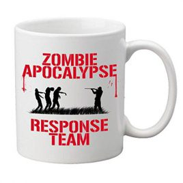 """Zombie Apocalypse Response Team"" Novelty Tasse"