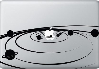 Solar System Laptop Decal