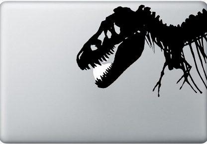 T-Rex Dinosaur Laptop Decal