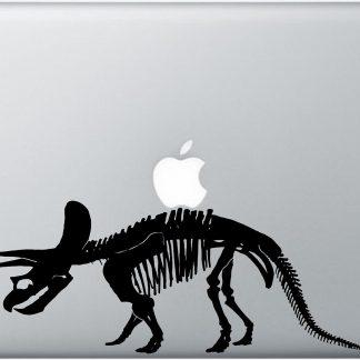 Triceratops laptop decal
