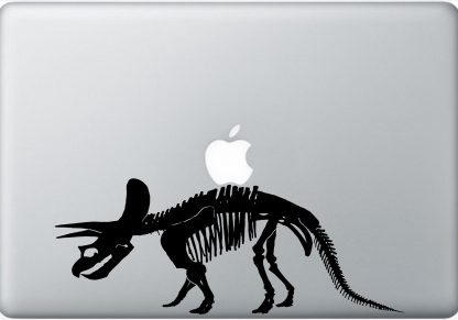 Triceratops laptop decal