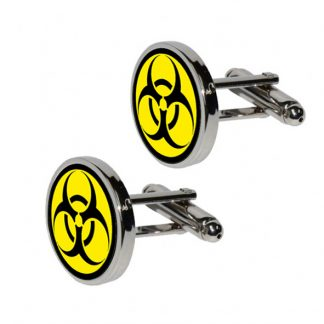 biohazard cufflinks