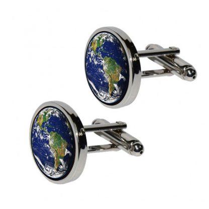 Earth Cufflinks