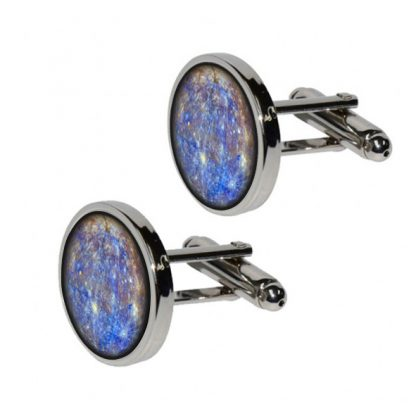 Mercury Cufflinks for Astronomy Fans