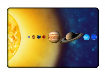 solar system chopping board