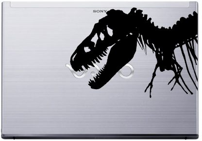 T-Rex Laptop Decal Vaio