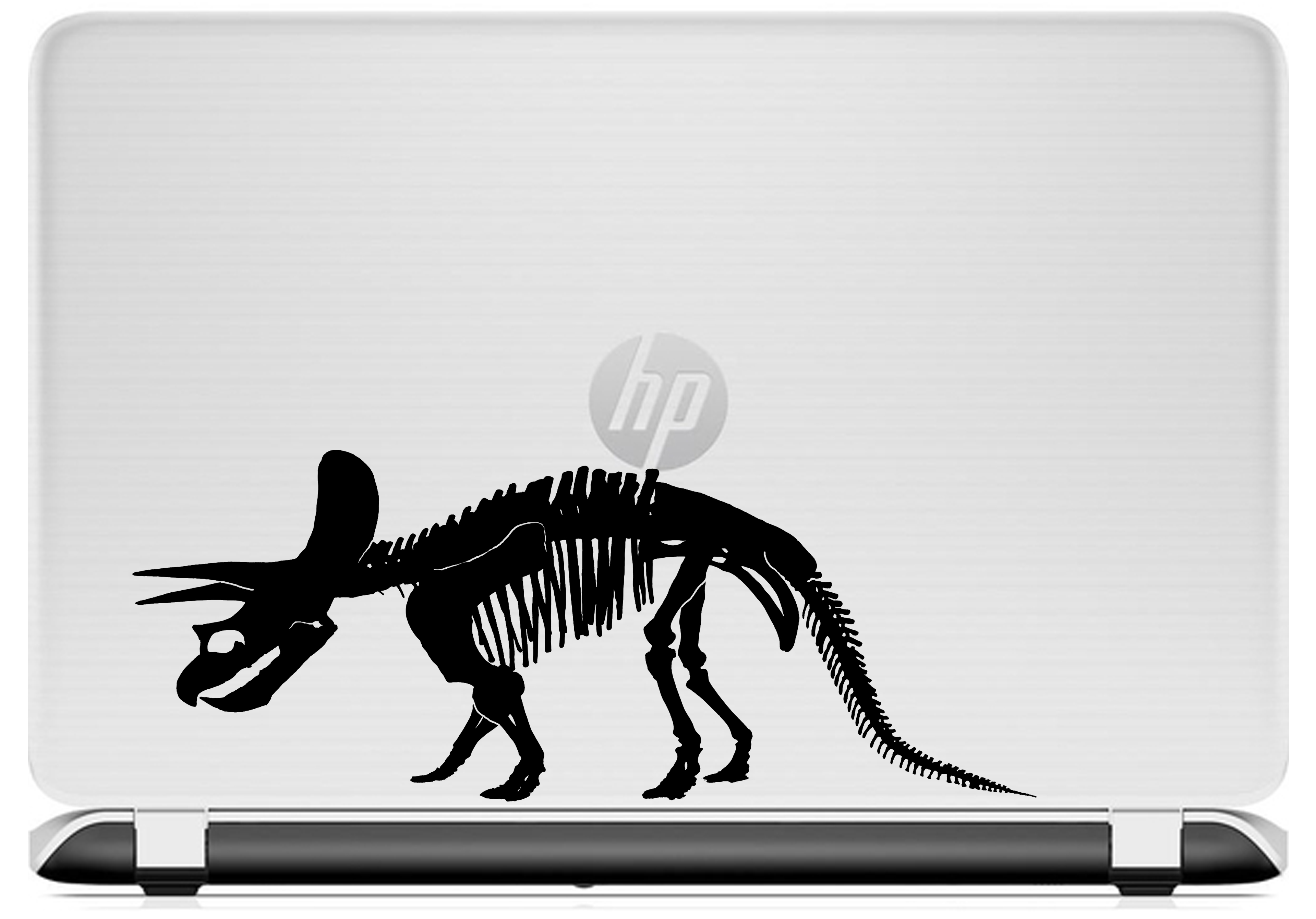 Triceratops laptop decal HP