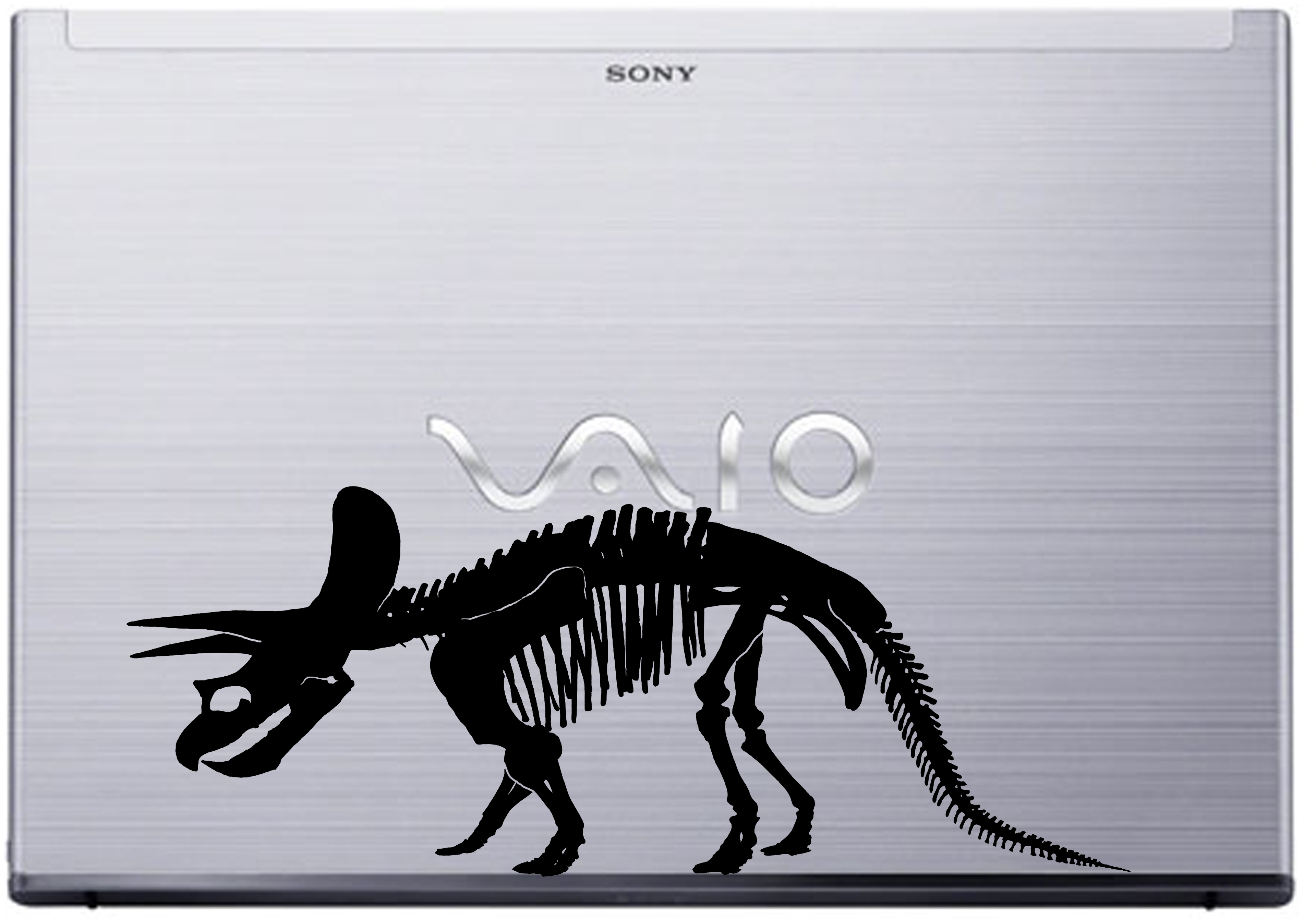 Triceratops laptop decal Sony Vaio