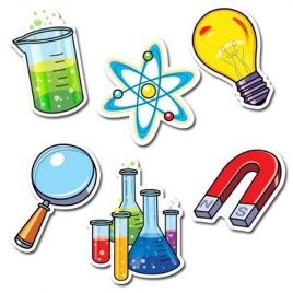 36 x Science Lab Picture Display Cards / Cut Outs for Schools (large)