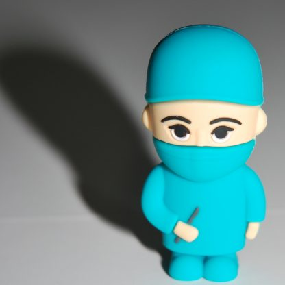 Surgeon USB Flash Drive Standing with Shadow