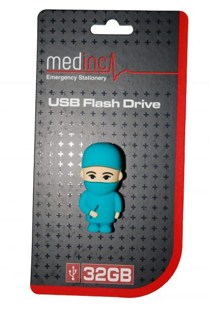 Surgeon USB Flash Drive in Packaging