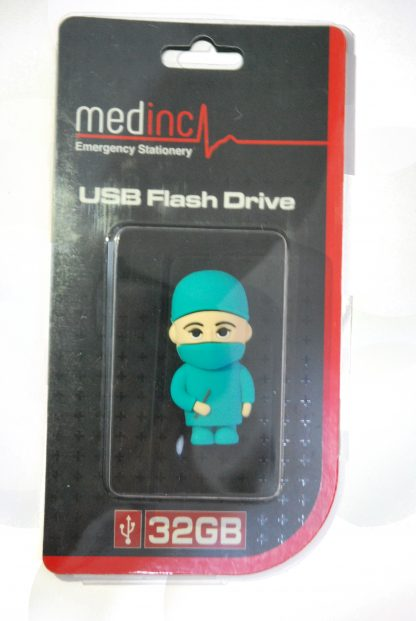 Surgeon USB Flash Drive in Packaging Closed