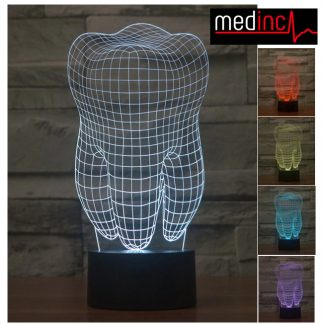 3D Tooth Desk Light